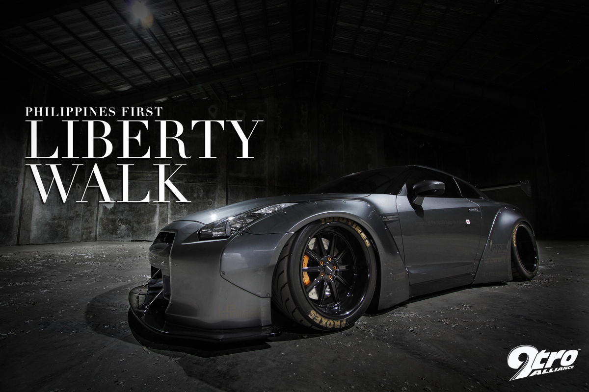 Nissan GT-R - Philippines' first Liberty Walk