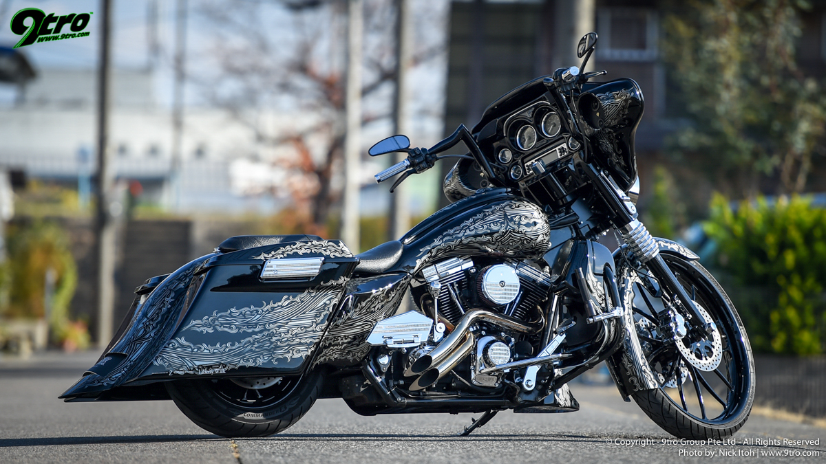 "Liberty Walk ""COBOO Bagger"" Limited Edition"