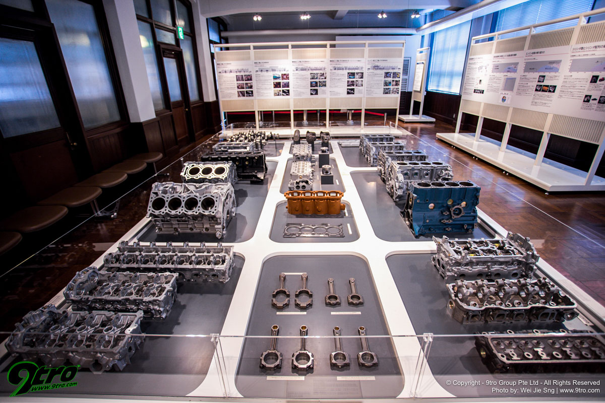 Nissan Engine Museum – Heart to heart