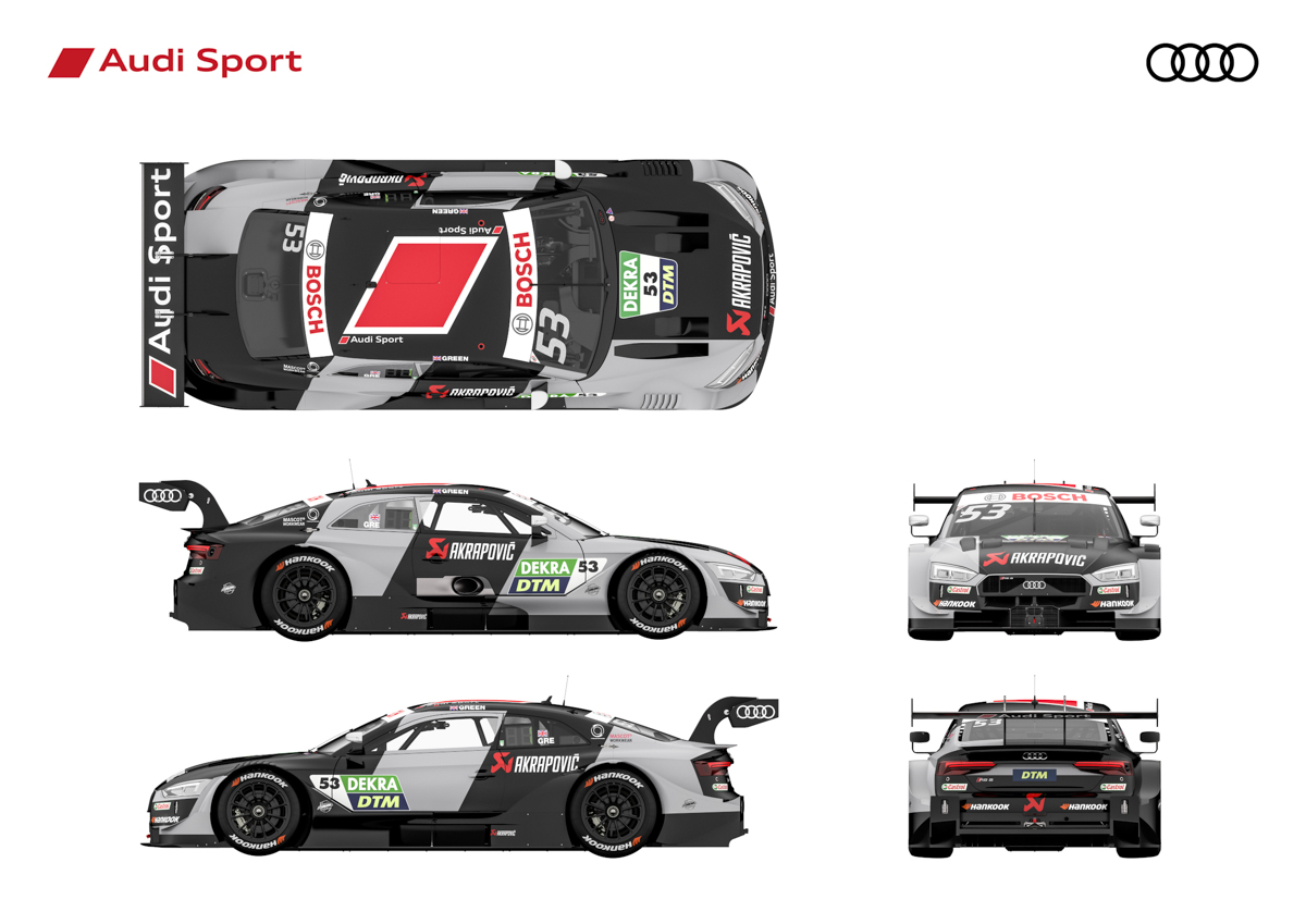 Audi RS5 DTM : new clothes for the championship winning car