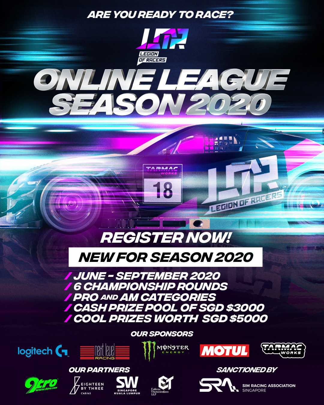 2020 Legion of Racers Championship - Preview