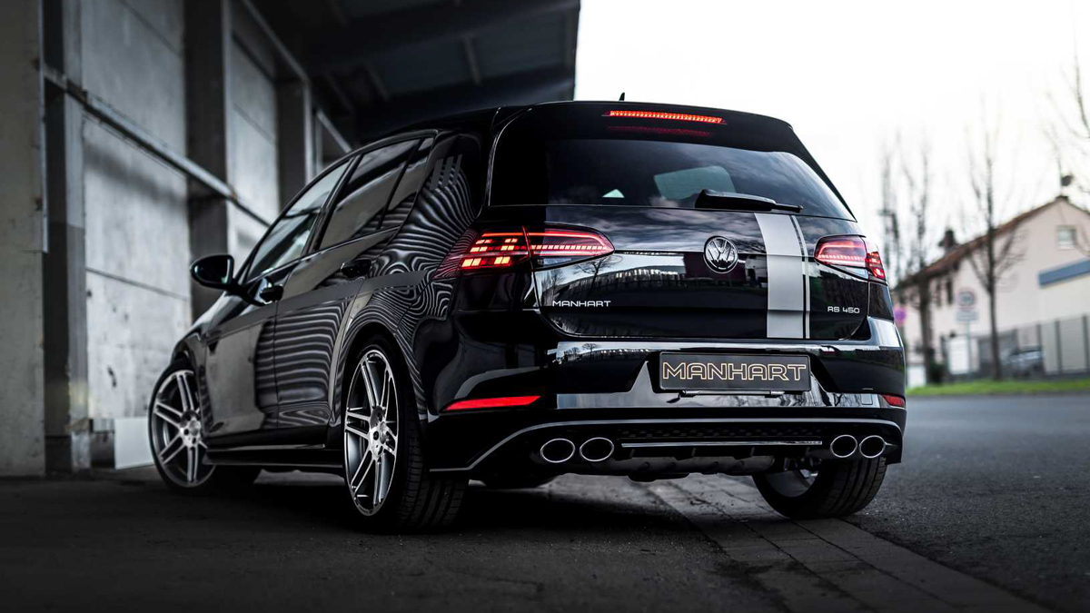Manhart Volkswagen Golf R