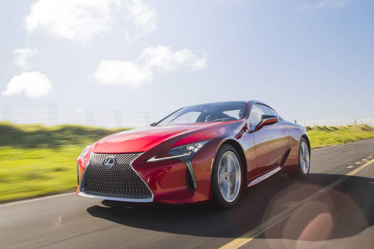 2021 Lexus LC 500 and 500h