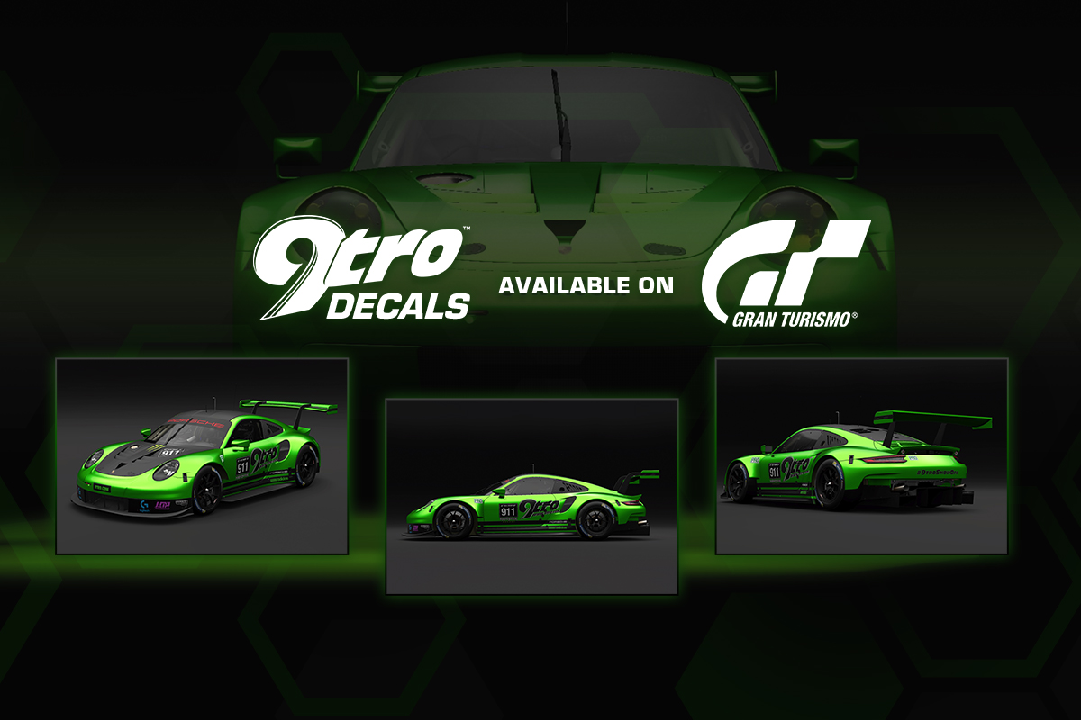 9tro decals available on Gran Turismo Sport ®