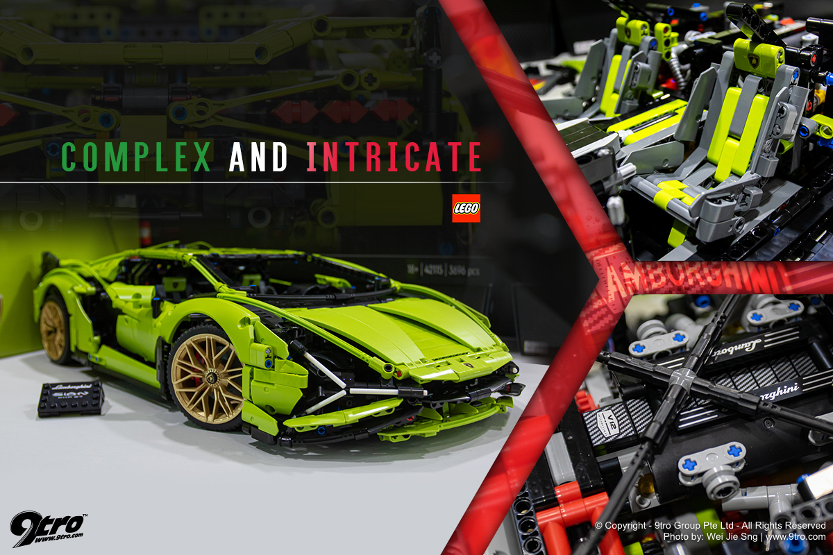 The Lego Technic Lamborghini Sián FKP 37 – Complex and Intricate