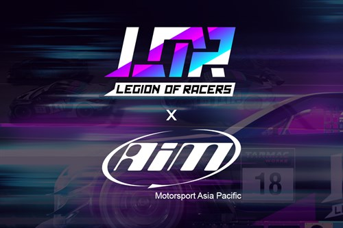 2020 Legion of Racers - AIM Motorsport Asia Pacific partnership