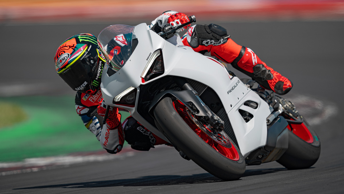 New Livery For The Ducati Panigale V2