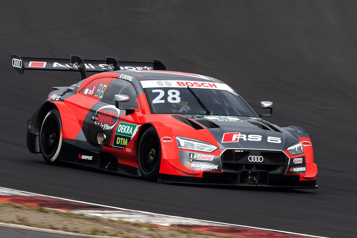 Audi RS 5 DTM to compete at Spa-Francorchamps