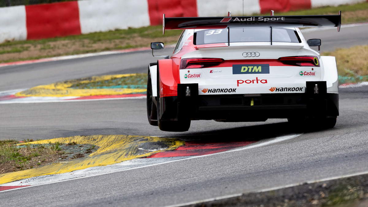 Audi RS 5 DTM will compete at Spa-Francorchamps in Belgium