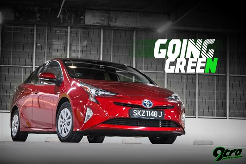 Toyota Prius – Going Green