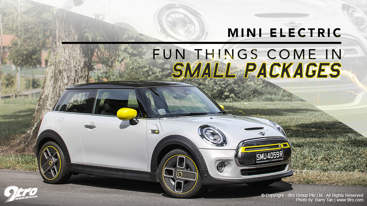 MINI Electric - Fun things come in small packages