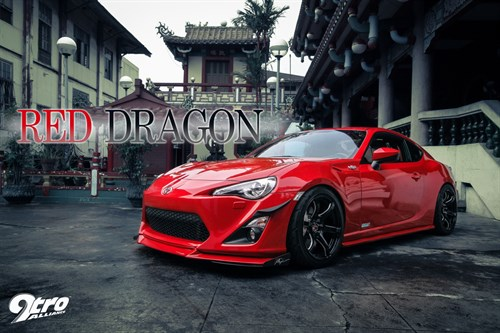 Toyota GT86 - Red Dragon