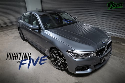 BMW 540i - Fighting for Five