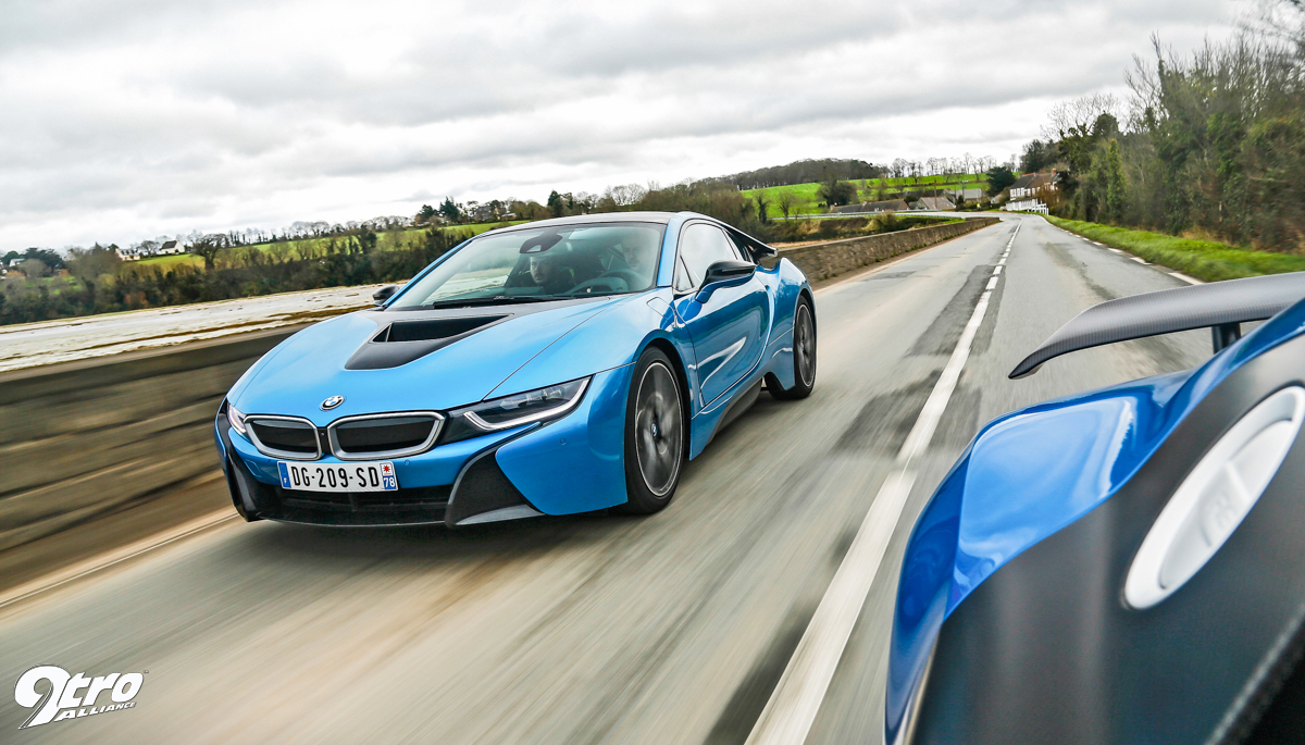 Audi R8 Lmx Vs Bmw I8 Power Struggle 9tro