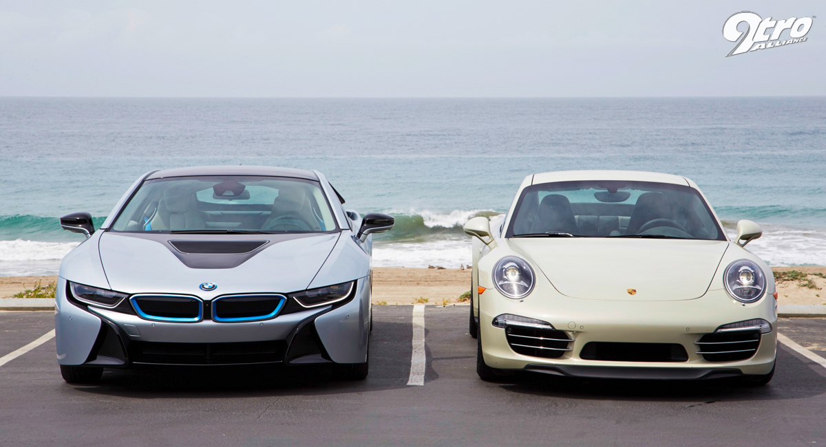 Bmw I8 Vs Porsche 991 Carrera The Best Of Both Worlds 9tro
