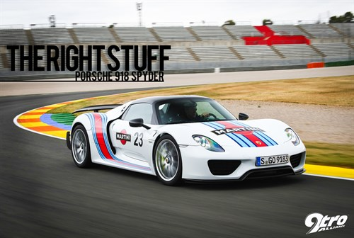 Porsche 918 Spyder - The Right Stuff