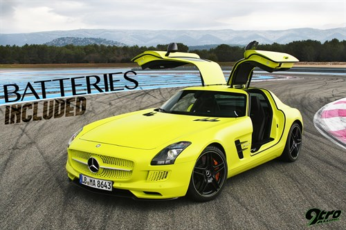SLS AMG Electric Drive - Batteries Included