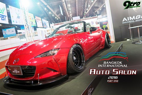 2016 Bangkok International Auto Salon – Part 1