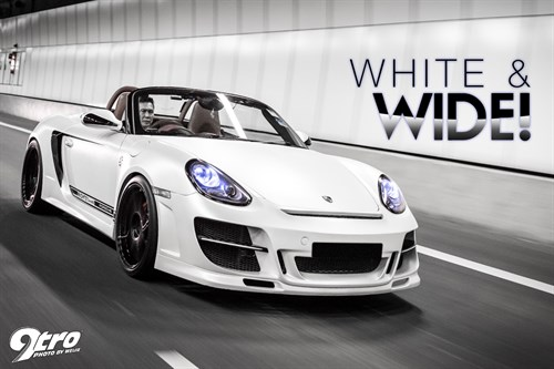 NightzConcepts Porsche Boxster S - White & Wide!
