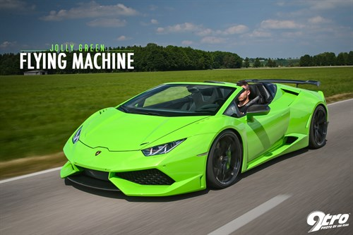 Novitec Huracan Spyder N-Largo - Jolly Green Flying Machine