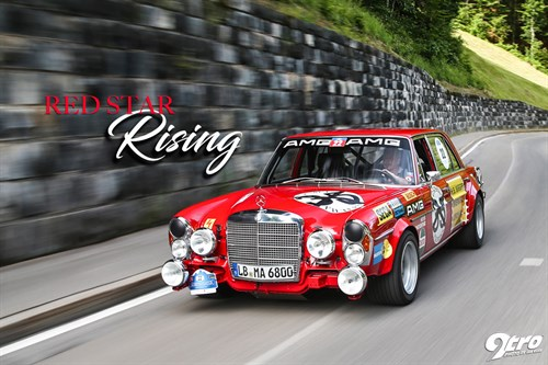 300SEL 6.3 AMG – Red Star Rising