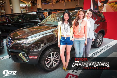 Toyota Fortuner - Singapore Launch