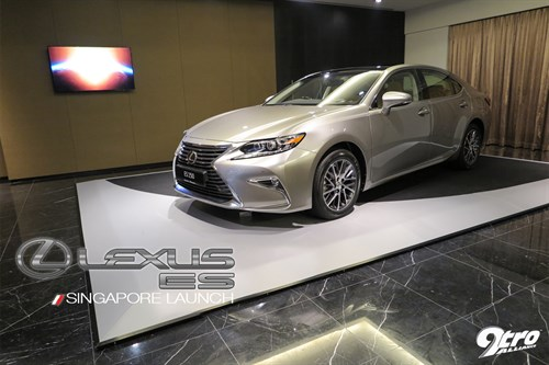 Lexus ES Singapore Launch