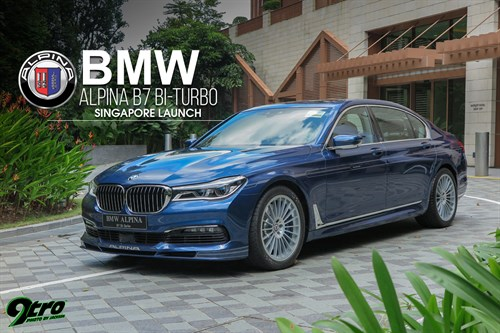 BMW ALPINA B7 Bi-Turbo – Singapore Launch