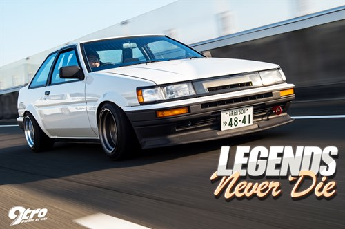 Toyota Corolla AE86 Levin - Legends Never Die