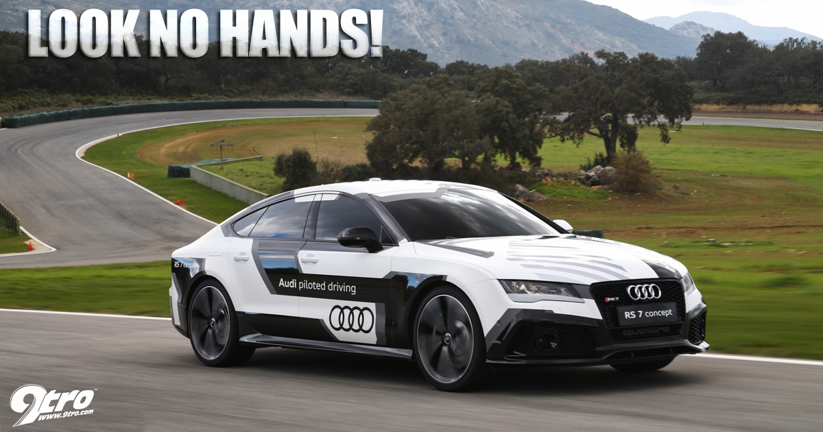 Audi Rs7 Piloted Driving Look No Hands 9tro