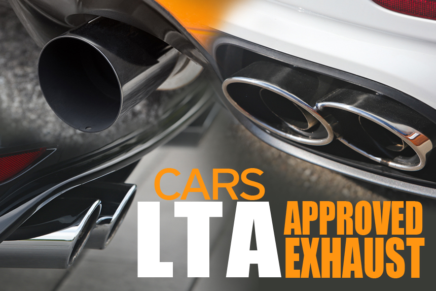 LTA Approved Exhaust - 9tro