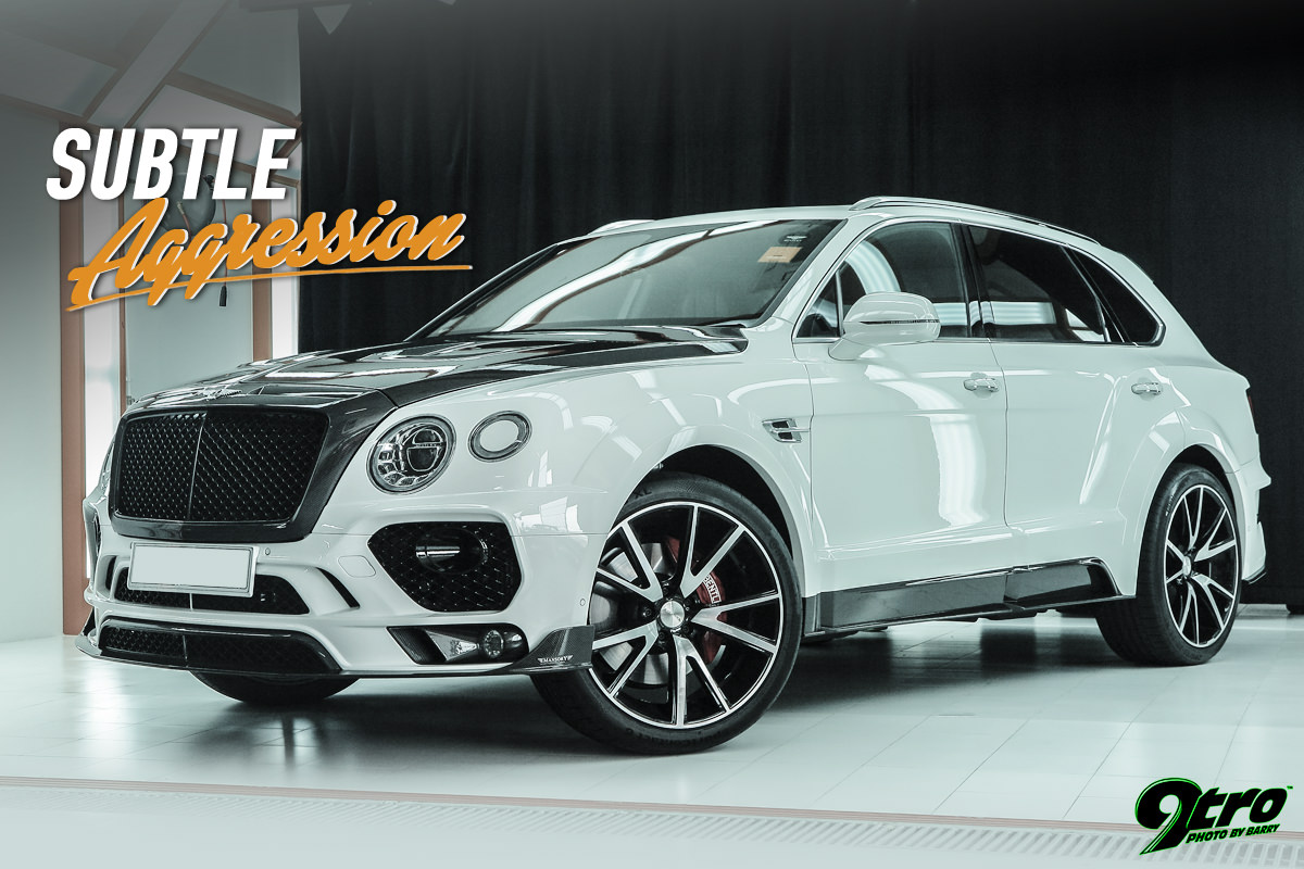 Mansory Bentley Bentayga Subtle Aggression 9tro