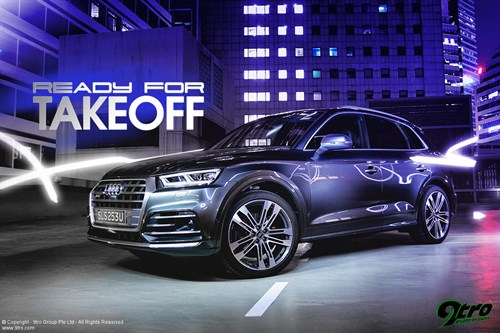 Audi SQ5 - Ready for Takeoff