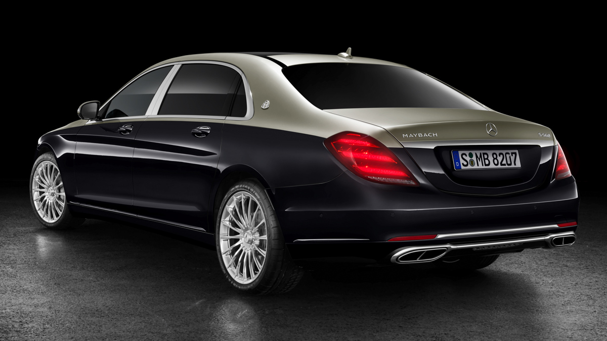 The Mercedes-Maybach S-Class in a new look
