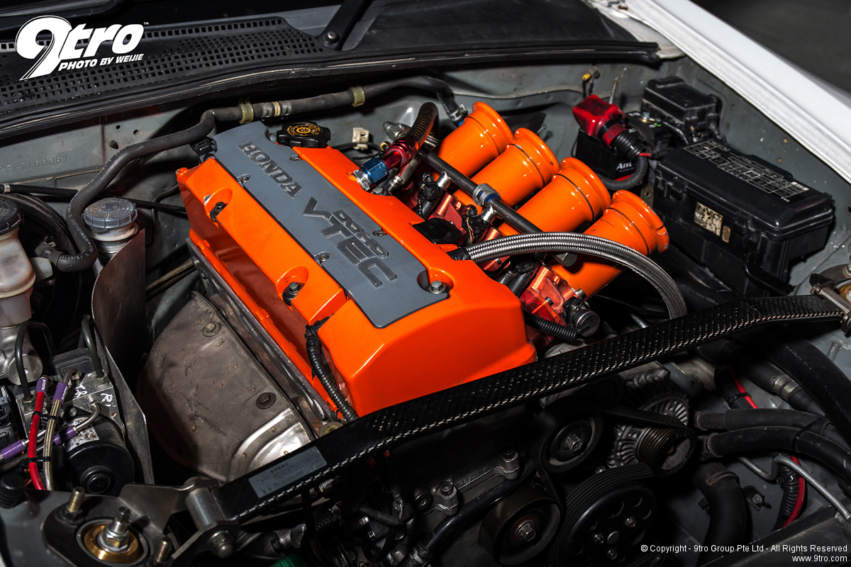 The pains of a engine swap - The legal way