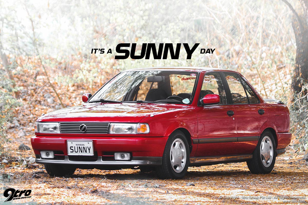 Nissan Sunny GT-S - It's a Sunny Day