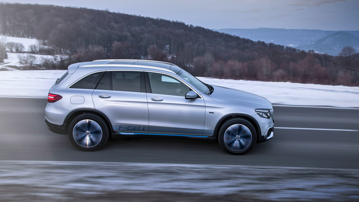 MERCEDES GLC F-CELL - PROOF OF CONCEPT