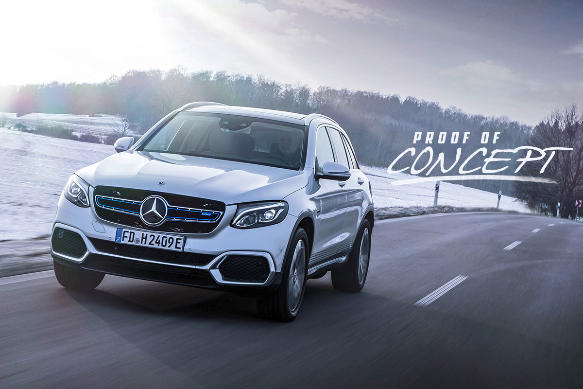 Mercedes-Benz GLC F-Cell - Proof of Concept