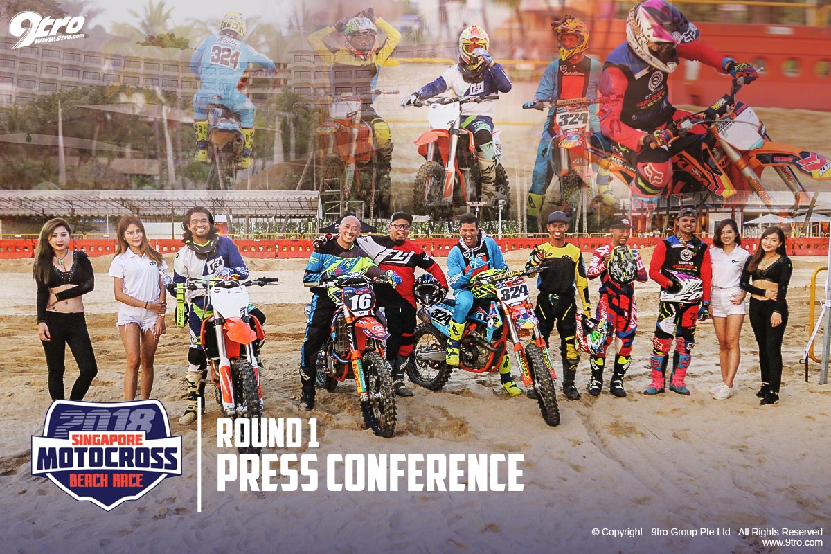 2018 Singapore MX Beach Race - Round 1 (Press Conference)