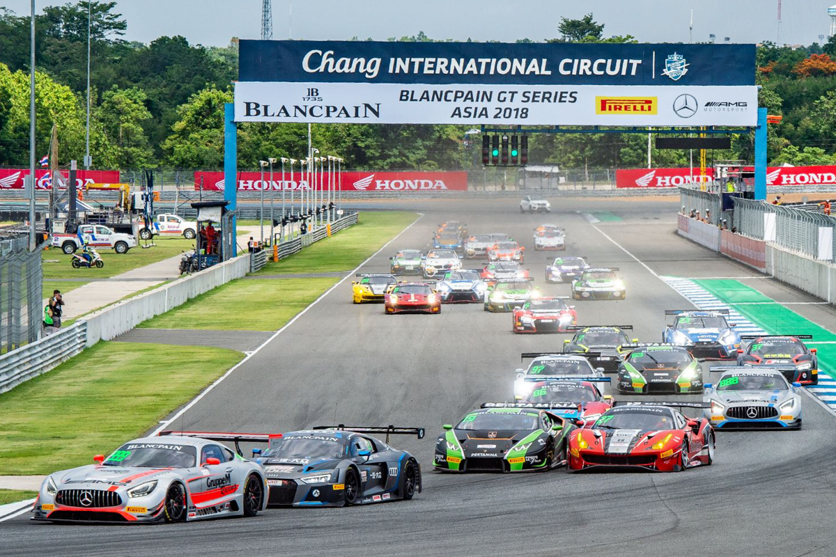 2018 Blancpain GT Series Asia - Round 2 (Race)