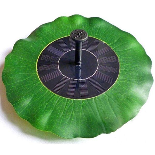 lotusblatt solarpumpe wasserspiel springbrunnen teichpumpe pumpe teich brunnen ebay. Black Bedroom Furniture Sets. Home Design Ideas