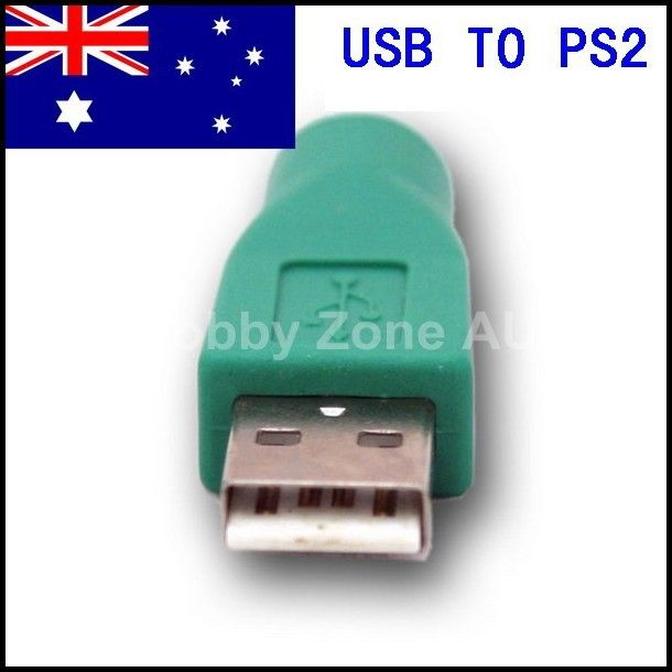 Details about USB to PS2 PS/2 Adapter Converter for Keyboard Mouse PC Laptop