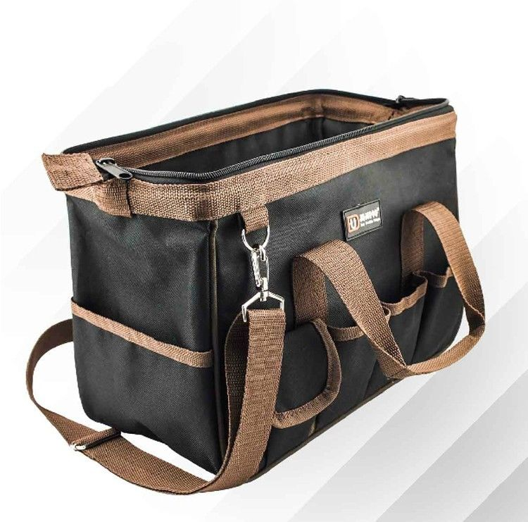 "Large Heavy Duty Ballistic Nylon Canvas Tool Bag NEW Free Shipping Size 14/"" 16/"""