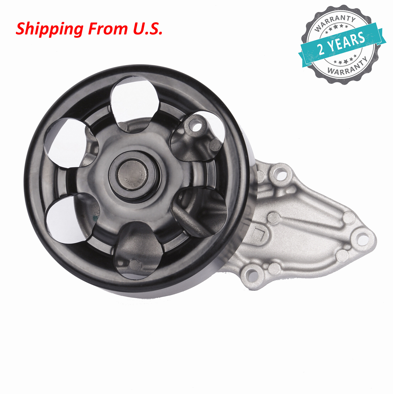 For Honda Accord CR-V Element Acura DOHC 2.4L Engine Water Pump With O-ring