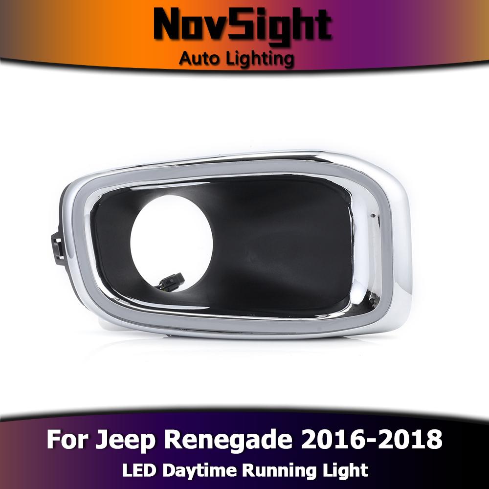Led Lights Jeep Renegade: LED DRL Light Daytime Running Lamp Turn Signal Set For