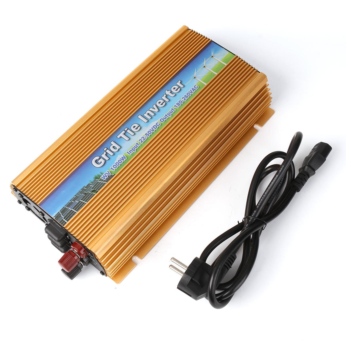 300W ~ 1000W Grid Tie Micro inverter DC 22-50V 10.5-30V 230V ...