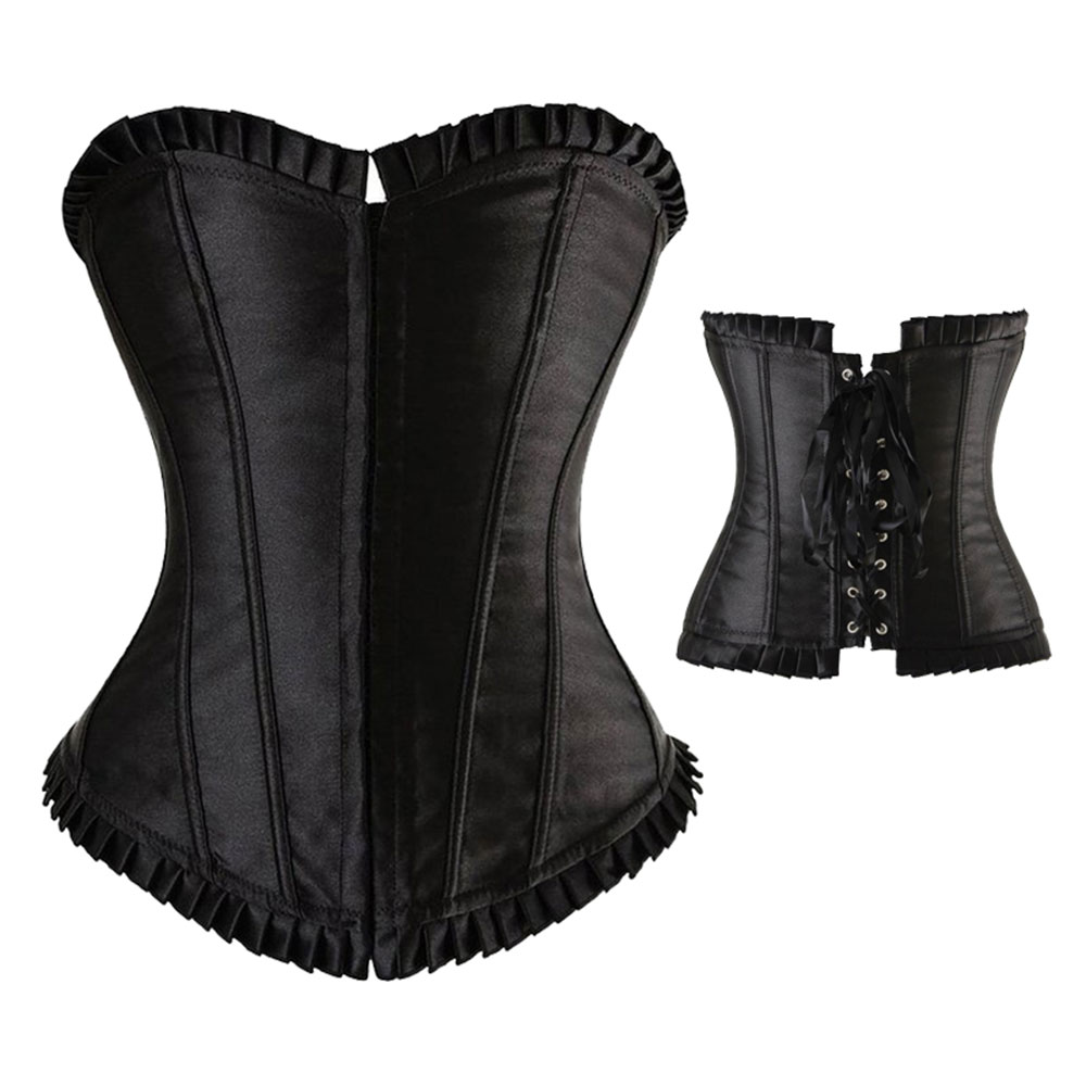 Corset Women Sexy Plus Size Corsets Top Overbust Bustier ...