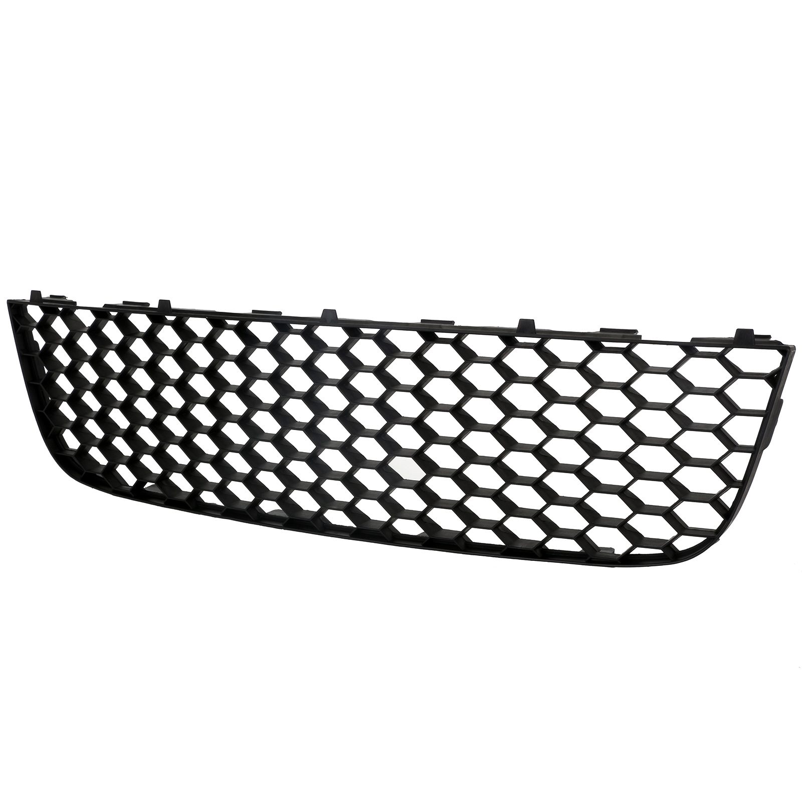 black front bumper lower center grille mesh for vw golf 5