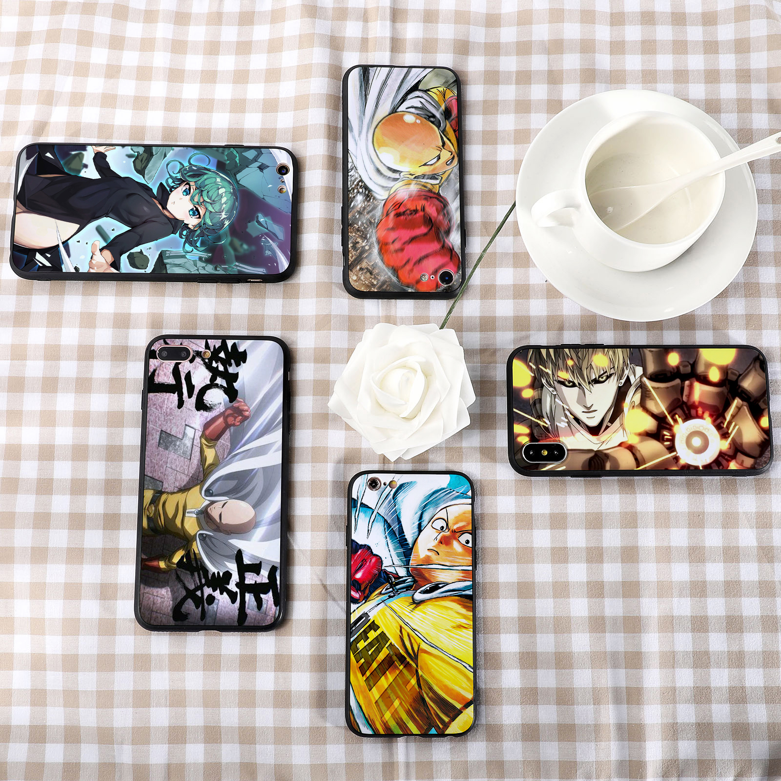 One Punch Man Design 2 iphone case