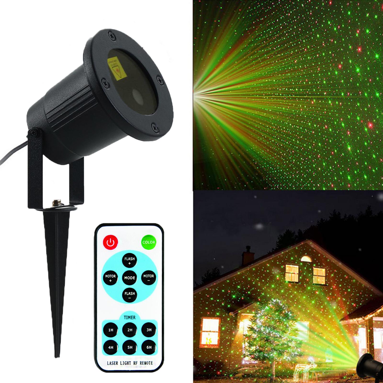 Fairy Light Lamp Laser Waterproof Projector Led Christmas